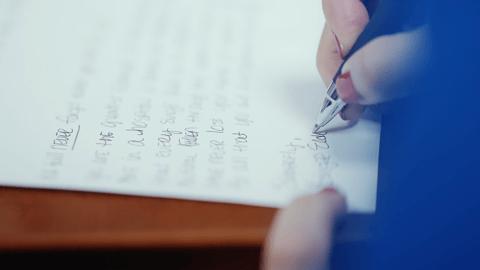 THA - Hand written letter